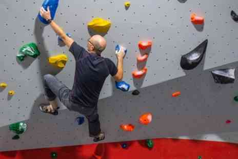 The Climbing Academy - Indoor Climbing Package for Up to Four - Save 67%