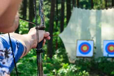 Adventure Now - One Hour Archery or Axe Throwing Session for Two Adults - Save 47%