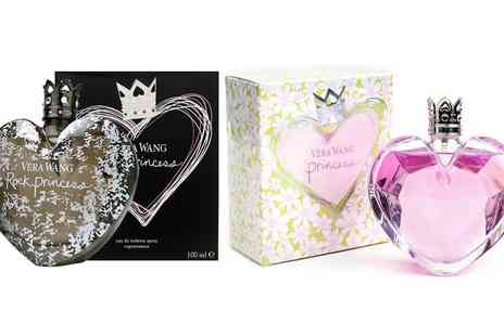 Groupon Goods Global GmbH - One or Two Bottles of Vera Wang Rock Princess or Flower Princess 100ml Eau de Toilette Sprays for Women - Save 0%