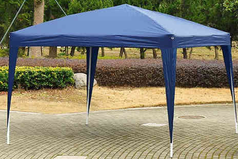 Mhstar - 3 x 3m Oxford Cloth Pop up Gazebo Choose from Four Colours - Save 57%