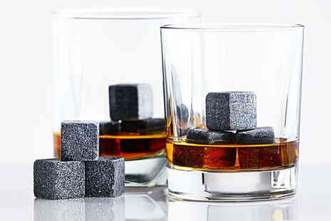 Home Vibe - Set of Nine Whiskey Stones - Save 83%