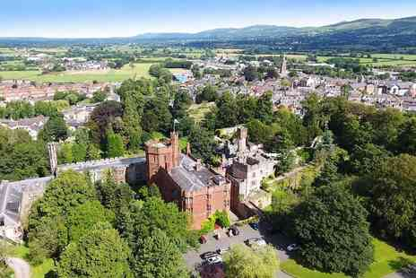 Ruthin Castle Hotel - Castle stay with cream tea and prosecco - Save 53%