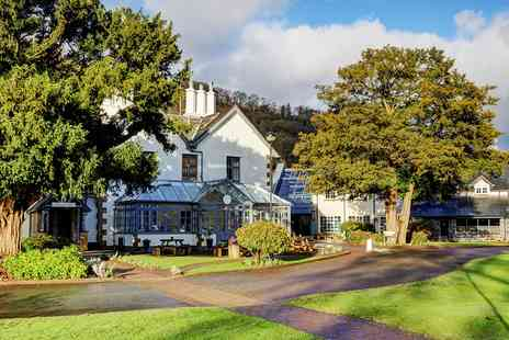 The Wild Pheasant Hotel - North Wales stay with meals and bubbly - Save 52%