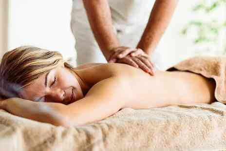 The Massage Company - 50 minute massage with 4 options - Save 27%