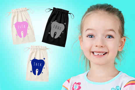Carrera - Personalised tooth fairy pouch - Save 59%