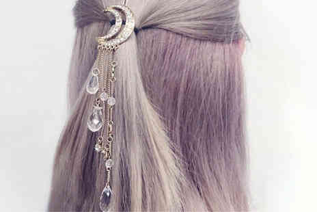 hey4beauty - Moon crystal hairclip - Save 90%