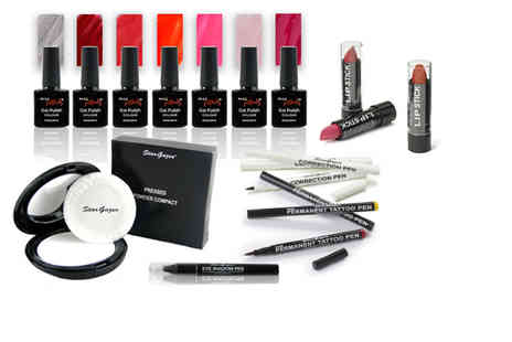 Forever Cosmetics - 6pc Stargazer makeup kit choose your powder and lip stick shade - Save 50%