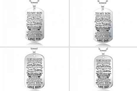 Blu Fish - To My Son or To My Daughter necklace choose from four different designs - Save 75%
