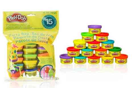 Spire Tech - Set of 15 Play Doh compound cans - Save 71%