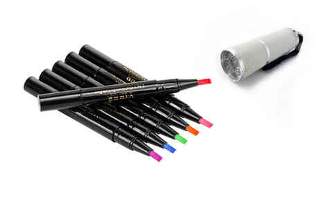 Forever Cosmetics - One step gel nail polish pen choose from 4 options - Save 77%