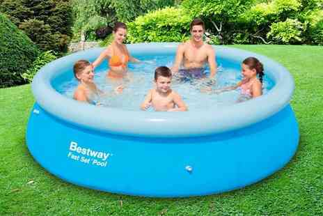 Direct2Public - 6ft Intex Easy Set pool or 10ft Bestway pool - Save 79%
