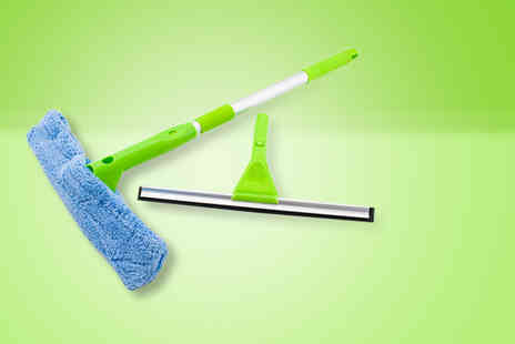 Direct2Public - 2 in 1 telescopic mop - Save 73%