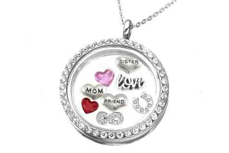 Groupon Goods Global GmbH - Necklace Locket Memories - Save 0%