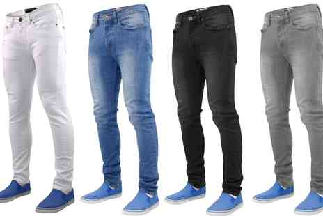 Groupon Goods Global GmbH - True Face Washed Denim Jeans Beattie - Save 0%