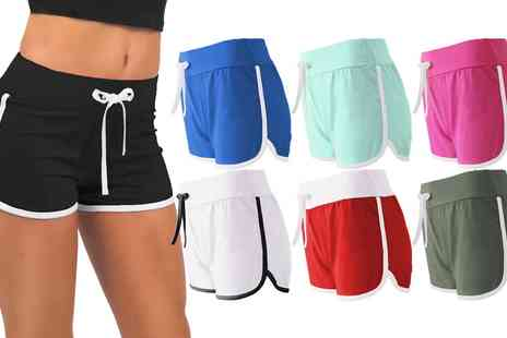 Groupon Goods Global GmbH - Womens Retro Style Shorts - Save 0%