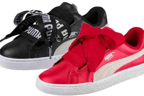 Groupon Goods Global GmbH - Puma Basket Womens Trainers - Save 0%