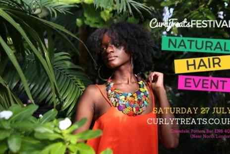 Curly Treats Natural Hair Festival - One or two general admission tickets on 27th July - Save 29%