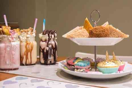 The Duke Deli - Unicorn Afternoon Tea for Two or Four - Save 42%