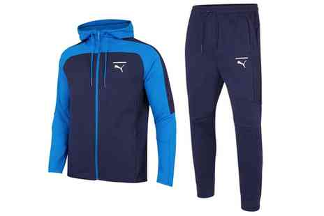 Groupon Goods Global GmbH - Puma Pace Colourblock Hoodie or Joggers - Save 0%