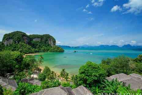 Paradise Koh Yao - Four Star Secluded Island Resort with Leisure Activities and Spa - Save 54%