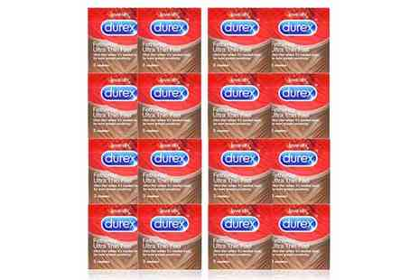 My Health Beauty - 48 Durex Fetherlite ultra thin condoms - Save 0%