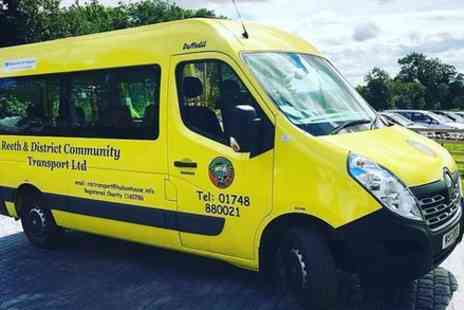 Reeth & District Community Transport - Reeth and District Community Transport - Save 0%