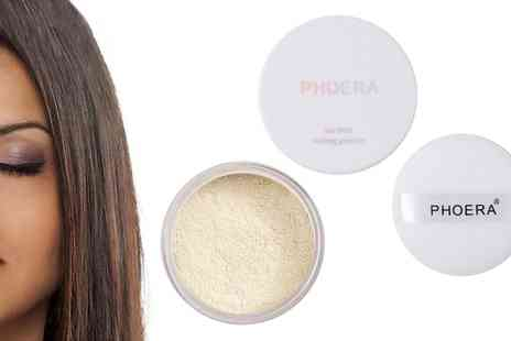 Groupon Goods Global GmbH - One or Two Phoera Oil Control Matte Loose Setting Powders - Save 0%