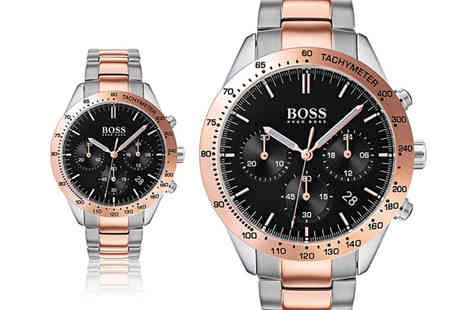 Ticara Watches - Mens Hugo Boss 1513584 Talent watch - Save 55%