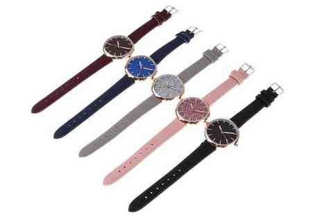 Magic Trend - Sparkly watch choose from five colours - Save 79%