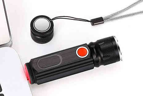 Fantasy Supply - Mode Usb Rechargeable Torch - Save 83%
