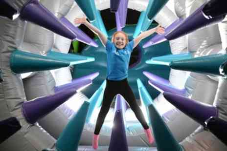Air Unlimited Burnley - One Hour Inflatable Park Access for Up to Four - Save 25%