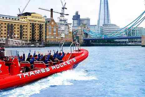 Thames Rockets - The Award Winning Thames Speedboat Adventure - Save 23%