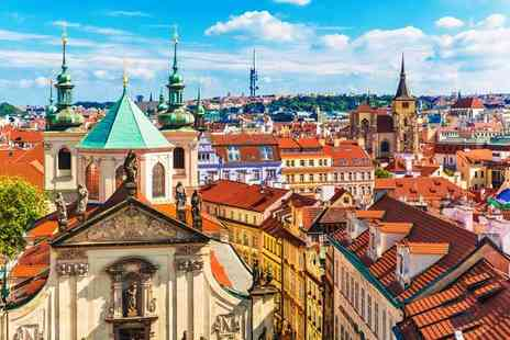 Worldwide Tours and Travel - Five Star Two nights Prague city escape, breakfast and return flights - Save 27%