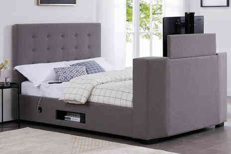 The Furniture Department - Double magnum TV bed or include a mattress and a king magnum TV bed - Save 76%