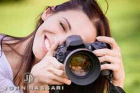 John Nassari - Three hour digital photography class & introduction to Photoshop - Save 78%