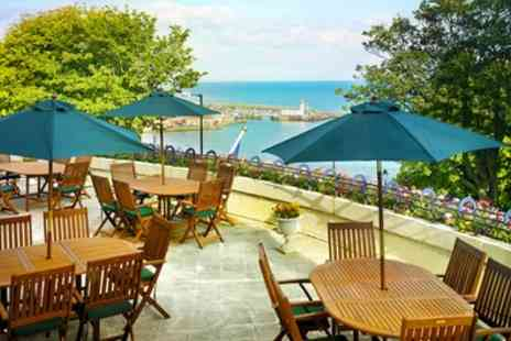 The Royal Scarborough - 1 or 2 Nights Stay for Two with Breakfast, Three Course Dinner and Bottle of Wine - Save 0%