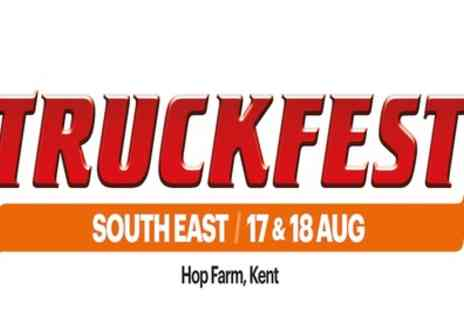 Truckfest South East - One child, adult or family day ticket from 17th To 18th August at Hop Farm - Save 0%