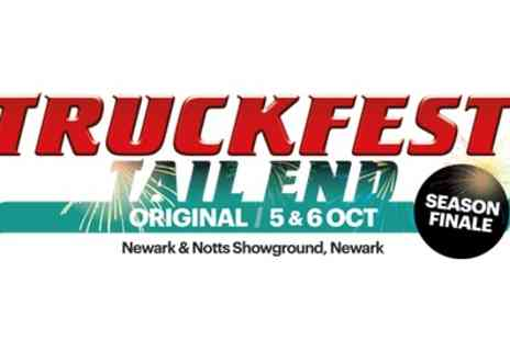 Truckfest Newark - One Day Ticket for a Child, Adult or a Family from 5th To 6th October - Save 0%