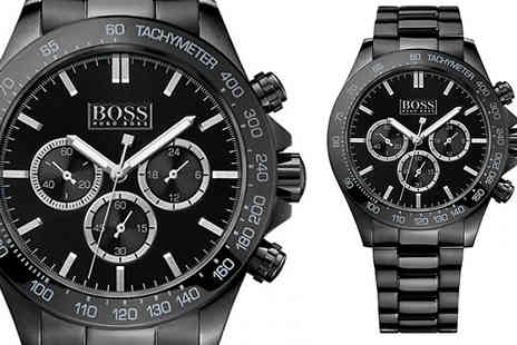 AW Watches - Mens Hugo Boss Chronograph Watches Choose from Seven Styles - Save 74%