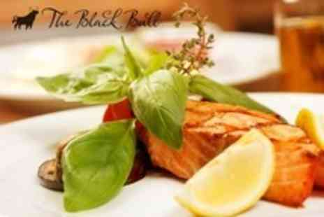 The Black Bull Hotel - Two Courses of Scottish Fare For Four - Save 60%