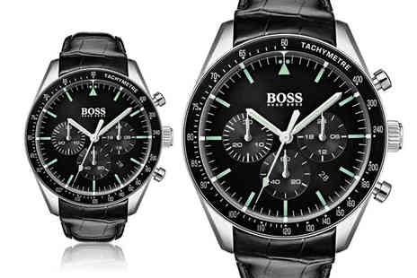 Ticara Watches - Hugo Boss 1513625 mens Trophy watch - Save 47%