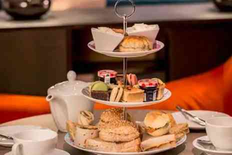 Hilton East Midlands - Afternoon Tea with Prosecco and Leisure Access for Two or Four - Save 28%