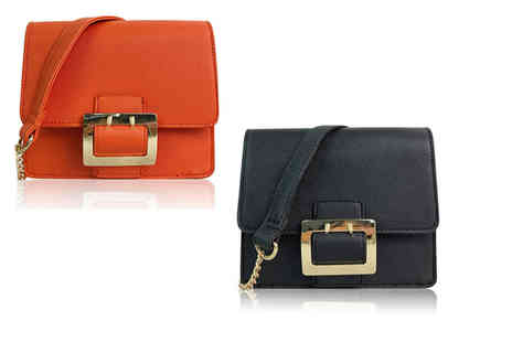 JCUnique - Cross body buckle bag choose from two colours - Save 80%