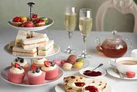 Cafe Cafe - Afternoon tea for two with a glass of prosecco each - Save 48%
