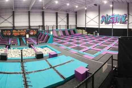 Airtime Halifax - One Hour Bouncing Session for Up to Four - Save 50%
