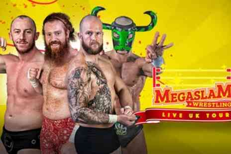 Megaslam Wrestling - One adult or family ticket for four from 22nd September To 27th October - Save 43%