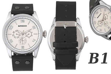 Ideal Deal - Breed Watches Choose from 6 Options - Save 91%