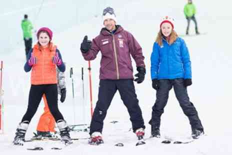 Chill Factore - Ski or Snowboarding Lesson, Level One to Three for One or Two or Full Day of Lessons - Save 60%