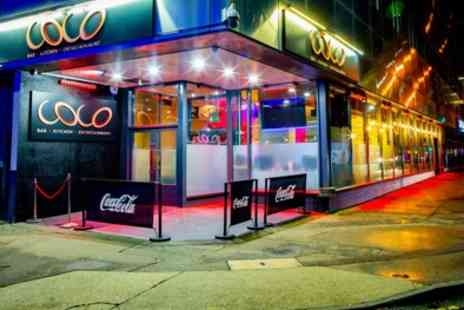 Coco Bar Kitchen And Entertainment - Cinema Ticket with Optional Pizza for One, Two or Four - Save 40%