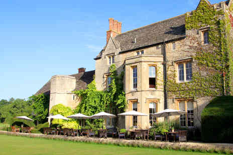 The Manor Country House Hotel - One Night Oxfordshire Break with Dinner for Two - Save 0%
